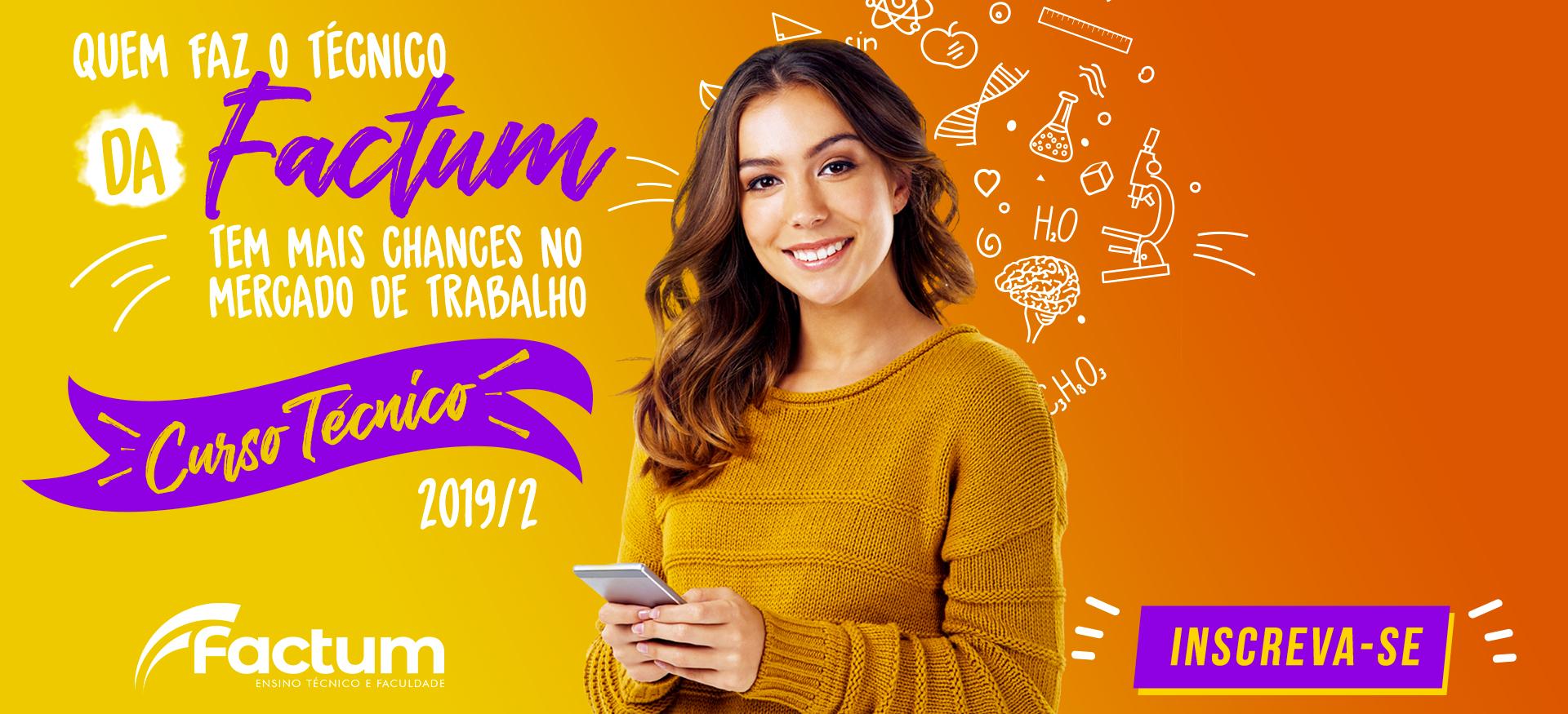 Factum Cursos Técnicos - 2019/2