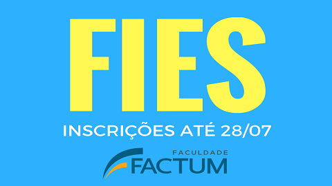 A Factum adere ao FIES